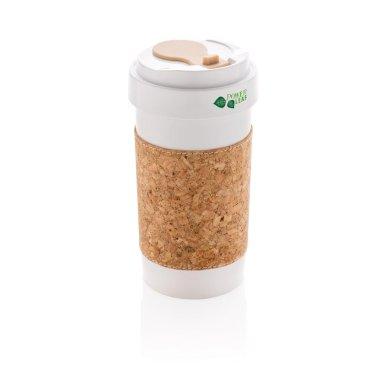 Šalica, eko, izrađena od PLA, 400 ml
