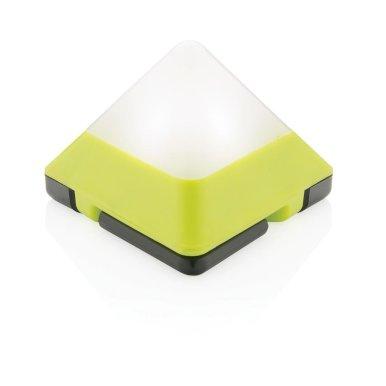 Lanterna, oblik trokuta, žuta