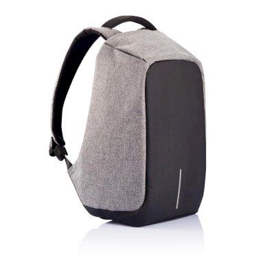 Ruksak Bobby s pretincem za laptop, zaštita protiv krađe, sivi