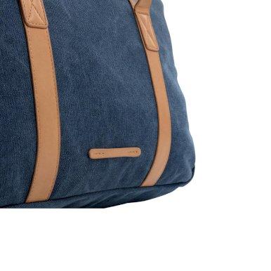 Torba, za laptop, canvas, plava