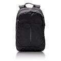 Ruksak, za laptop, sa USB priključkom, crni