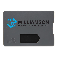 Držač kartica, RFID zaštita podatka, plastični, crveni