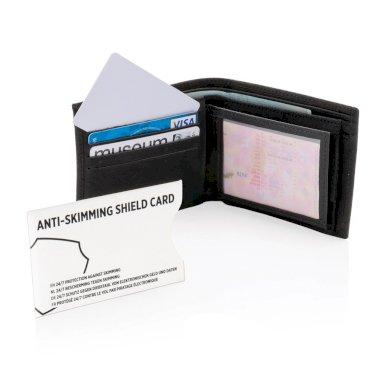Držač kartica, RFID zaštita podatka, plastični, bijeli