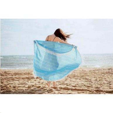 Prostirka za plažu- pareo, 180gr pamuk, okrugli oblik
