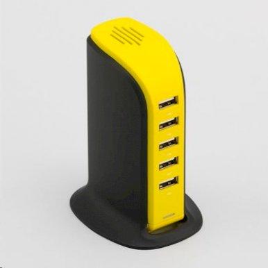USB Hub, Power Tower, zeleni