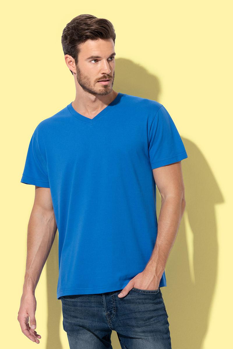 Majica, KR, Stedman classic V, blue midnight, 155 gr, M