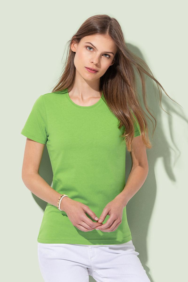 Majica, KR, Organic ženska 145 gr.crna,XS