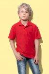 Majica, KR, Stedman Polo junior, 170 gr, white, S