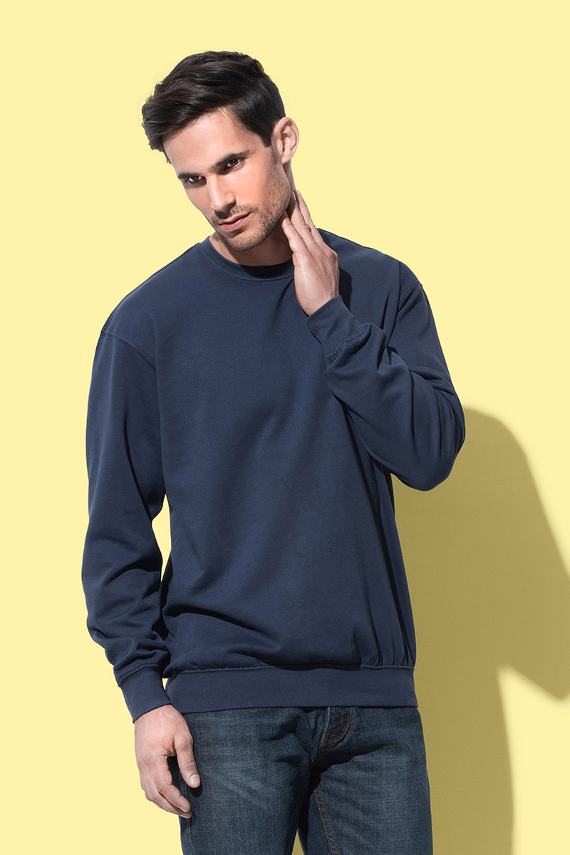 Pulover, DR, Stedman Sweatshirt, bright royal, 280 gr, L