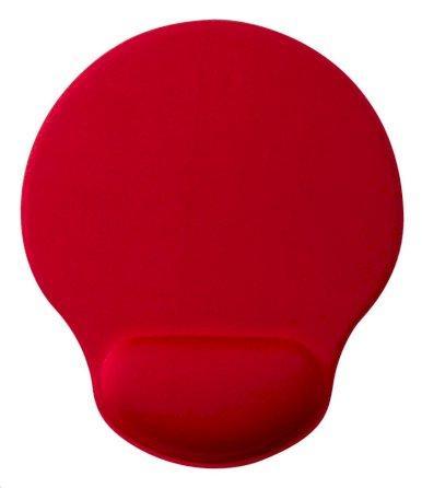 Podloga za miša sa naslonom za zglob, Minet, crvena