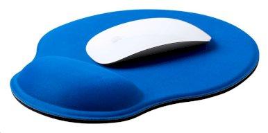 Podloga za miša sa naslonom za zglob, Minet, plava