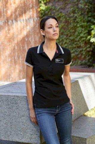 Majica, KR, Deuce Slazenger, polo,180 g/m2, ženska