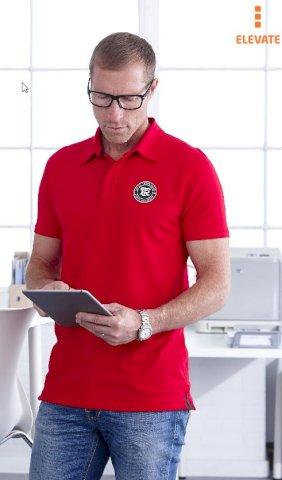Majica, KR,ELEVATE Markham Polo,200gr., 95% pamuk 5% elastin, muška