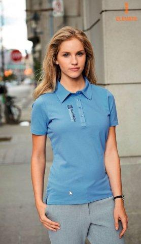 Majica,KR, ELEVATE Markham Polo,200gr., 95% pamuk 5% elastin, ženska