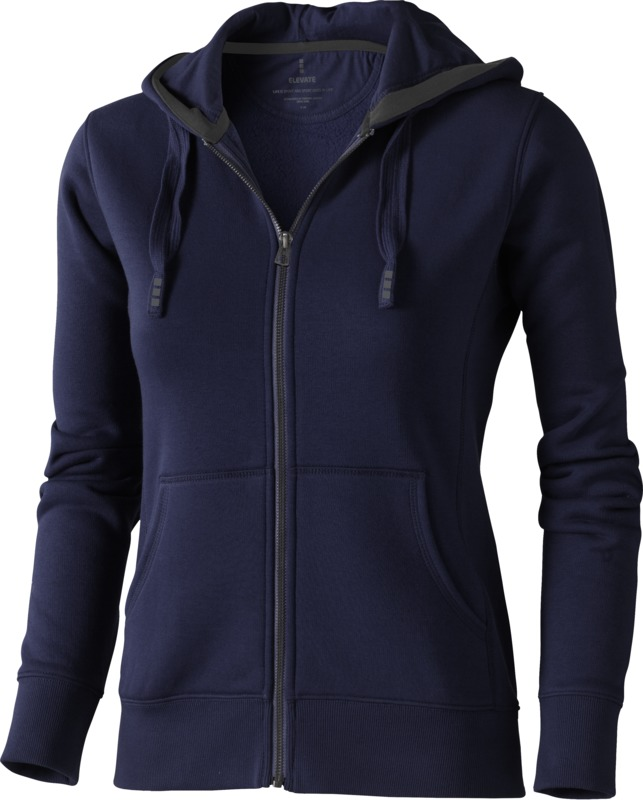 Majica, DR, hooded sweat, na kopčanje, navy, ženska, L