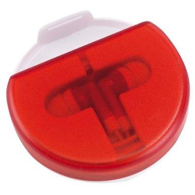 Slušalice, u kutiji, crvene