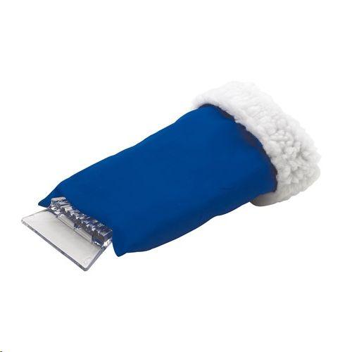 Strugalica za led s rukavicom, plava