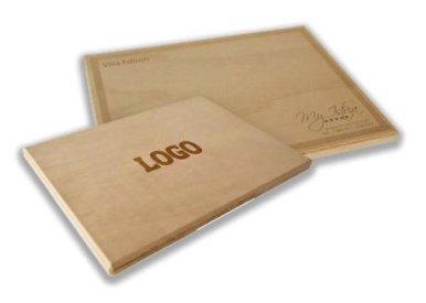 Daska za rezanje, drvena, pravokutna 29*38 cm, bez gravure