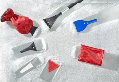 Strugalica za led s rukavicom