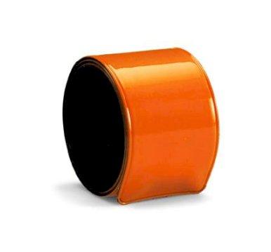 Narukvica, Fluo, savitljiva, narančasta, 34* 30 mm