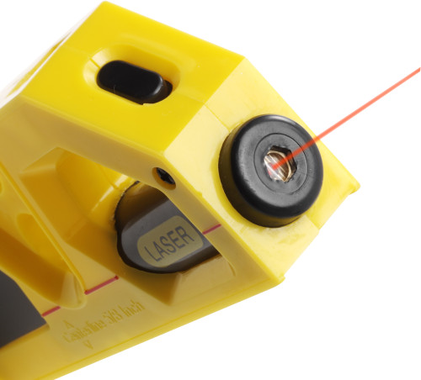 Metar, 2m, sa libelom i laserom, žuti