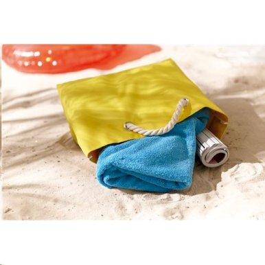 Torba za plažu Capri, s pletenim pamučnim ručkama