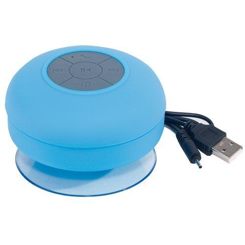 Zvučnik Wake up, bluetooth, za kupaonicu, plavi