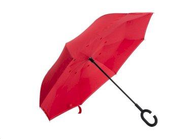 Kišobran, obrnuti, crveni