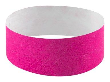 Narukvica, papirnata, za događaje, roza