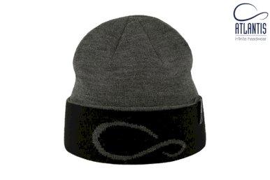 Kapa, pletena, custom made, s utkanim logom