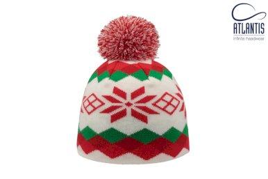 Kapa,pletena dječja, s utkanim logom prema dizajnu kupca