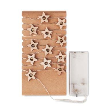 Set lampica za bor, oblik zvijezde