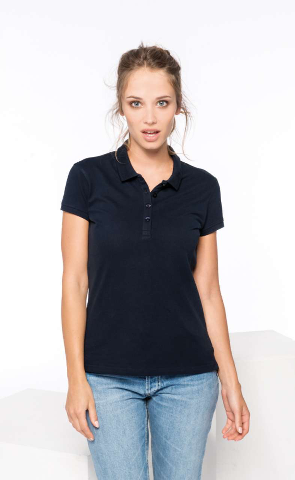 Majica KR, ženski, polo, 180g, forest green, XXL