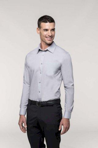 Košulja, muška, DR, 65% poliester, 35% pamuk, crna, XL