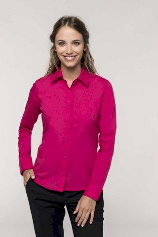 Košulja ženska DR, 65% poliester + 35% pamuk
