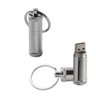 USB 8GB, Ruby Chrome, srebrni