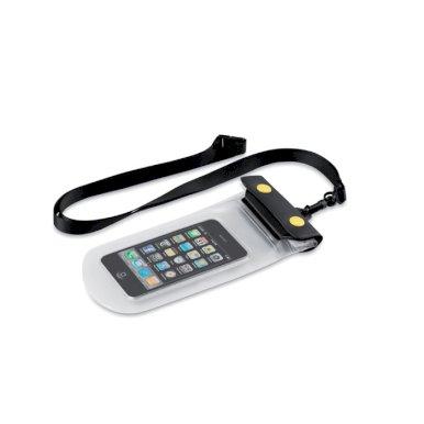 Torbica, za mobitel i dokumente, vodonepropusna, crna