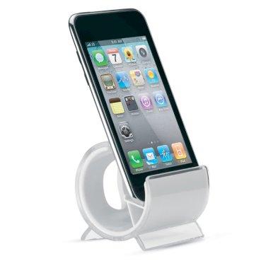 Držač mobitela, plastični, bijeli
