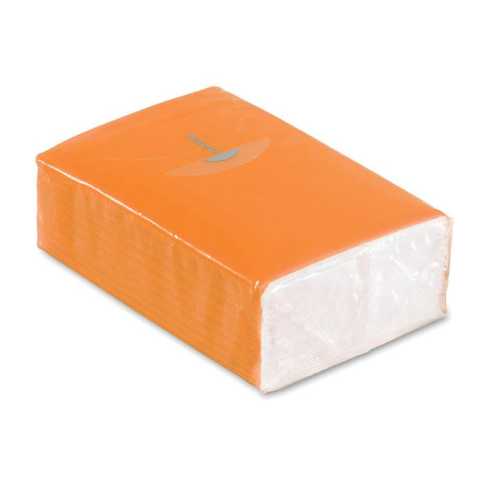 Papirnate maramice, 10 kom, narančaste