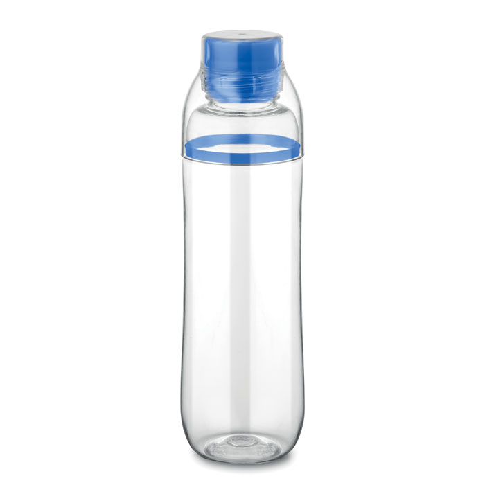 Boca za vodu, tritan,  BPA free,700ml, integrirana čaša, plava