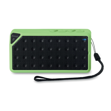 Zvučnik, bluetooth, integriran FM radio, crno- zeleni