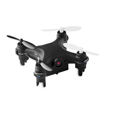 Mini dron, s kamerom, crni