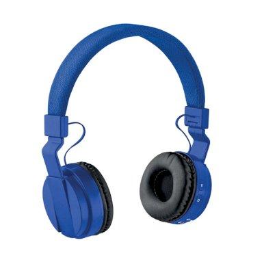 Slušalice sklopive, bluetooth, plave