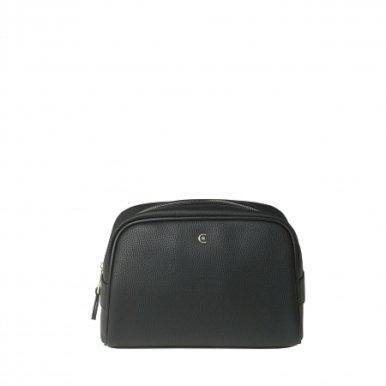 Kozmetička torbica Hamilton, umjetna koža, Cerutti 1881, crna
