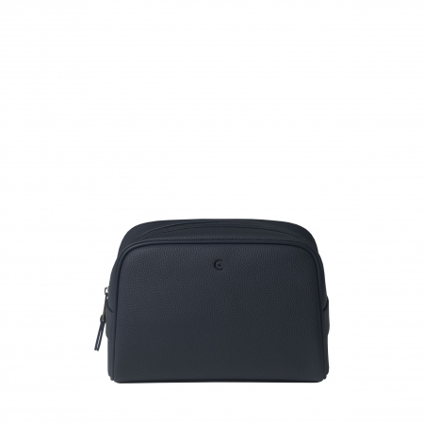 Kozmetička torbica Hamilton, kožna, Cerutti 1881, tamno plava