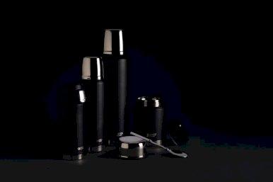 Termo šalica, Swiss Peak Elite, 300 ml., sa nepropusnim poklopcem, crna