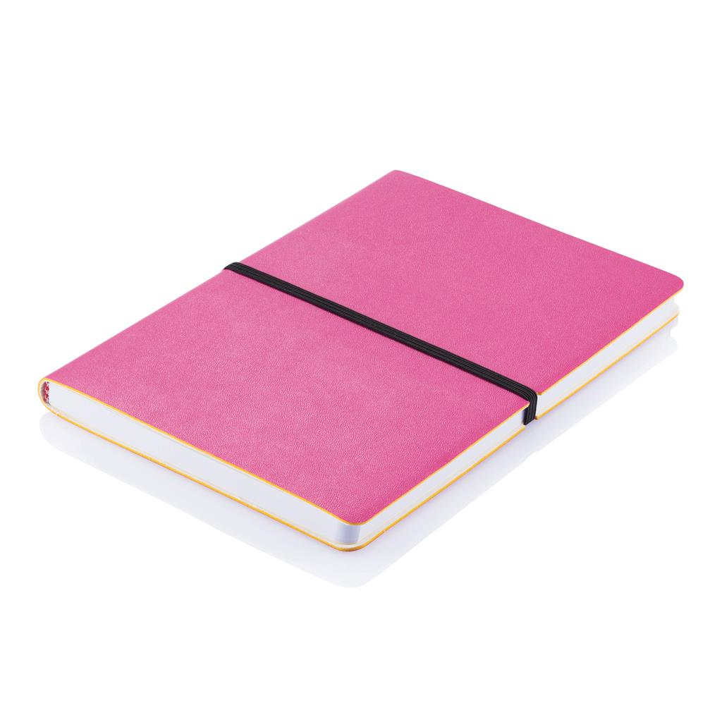 Blok, A5, Deluxe softcover, rozi