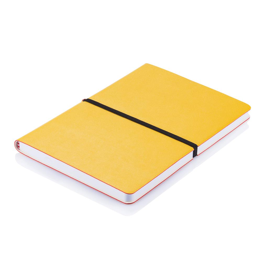 Blok, A5, Deluxe softcover, žuti