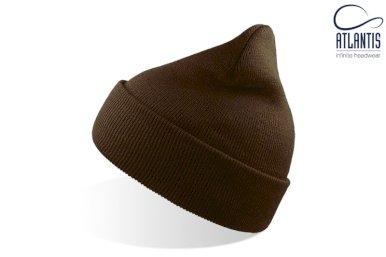 Kapa, Wind, pletena, smeđa