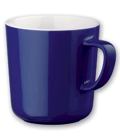 Šalica, keramička, 300 ml, tamno plava